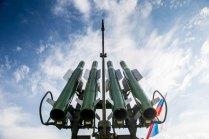 Lanzador cuádruple de misiles del sistema BUK-M2 (foto: Rostec)