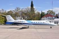 Learjet 60 T-10 empleado para el traslado del JEMGFAA. (Foto: Mauricio Chiofalo)