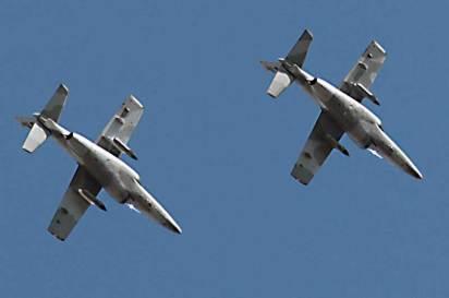 Durante la tarde del 15 de agosto la sección de IA-63 realizó la interceptación de un Cessna 150 sobre la zona noreste de Buenos Aires. (Foto: Guillermo Sentis).