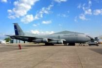 El KC-135E 983 fue despachado por Chile rumbo a México para aportar ayuda humanitaria para las víctimas del terremoto que afectó la capital azteca (foto: Fuerza Aérea de Chile).