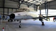 El EMB-110C FAU 580 fue visto en el Museo Aeronáutico de Carrasco para el Día del Patrimonio (foto: Faunáticos / Fanáticos de la Fau).