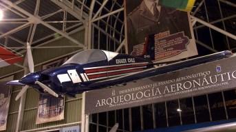 Enaer T-35S CC-PZC con marcas de la escuadrilla acrobática Halcones y títulos de su fabricante (foto: Carlos Ay).