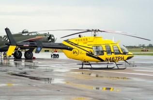 Bell 407 de una empresa de ambulancias aéreas (foto: Javier Vera Martínez).