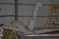 Sección de cola del T-152. (Foto: E. Brea)