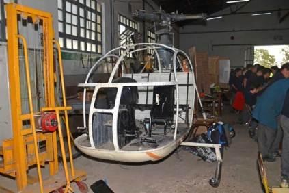 El SNCASE SA 3180 Alouette II LV-ARE que perteneciera a Helicópteros Marinos. (Foto: E. Brea)
