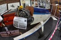 También dentro de la sala histórica se encuentra expuesto el fuselaje de un Evans VP-1 Volksplane . (Foto: E. Brea)