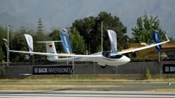 El campeón Sebastian Nägel aterrizando en Vitacura al atardecer (foto: Carlos Ay).
