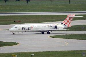 Volotea: El Boeing 717 se despide de Europa