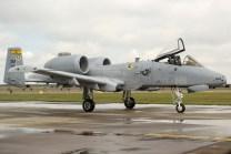 A-10A Thunderbolt II de la USAF (foto: Javier Vera Martínez).