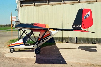 Pampa's Bull/Flightstar LV-U-121 (photo: Carlos Ay).