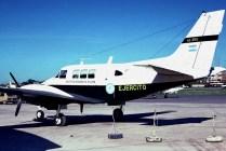 Beech Queen Air AE-256 (photo: Carlos Ay).