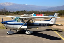 """Skyhawk II"": Los Andes Air Club Cessna 172P CC-KAD (photo: Carlos Ay)."