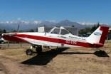 """Brave 375″: Rafael Reyes Ltd. Piper PA-36-375 CC-CVQ (photo: Carlos Ay)."