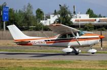 Skylane II: CPV Cessna 182 CC-KWJ (photo: Carlos Ay).