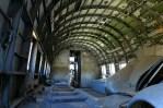 Inside the cargo-configured DC-3C CC-PJN cabin (photo: Carlos Ay).