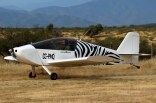 Zebra experimental: Sonex CC-PMQ on departure (photo: Carlos Ay).