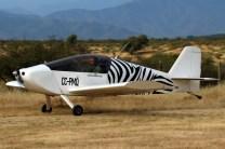 Zebra experimental: Sonex CC-PMQ on departure (photo: Carlos Ay).