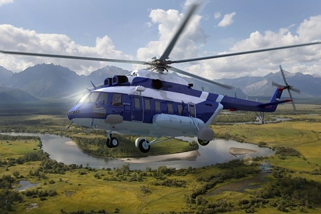 Mi-171А2 (artist's impression: Russian Helicopters)