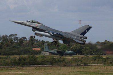 FACH F-16AM taking off (photo: Rob Nispeling)
