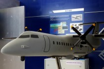 Italy's Elettronica exhibited the ELT/800, a passive maritime surveillance electronic electronic warfare system (photo: Carlos Ay).