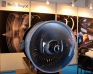 Rolls-Royce Trent engine model (photo: Carlos Ay).