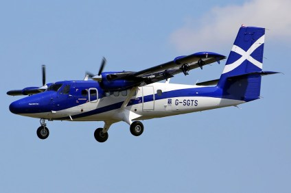 Viking Air was displaying an ubiquitous DHC-6-400 Twin Otter in Logainair's smart livery (photo: Wim Callaert).