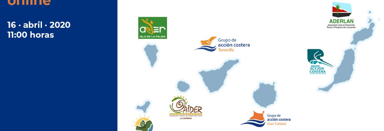 Conversación online con los GALP de Canarias