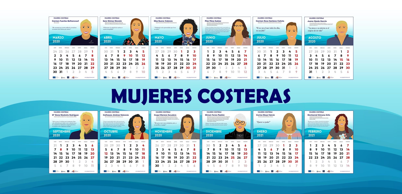 Calendario de Mujeres Costeras
