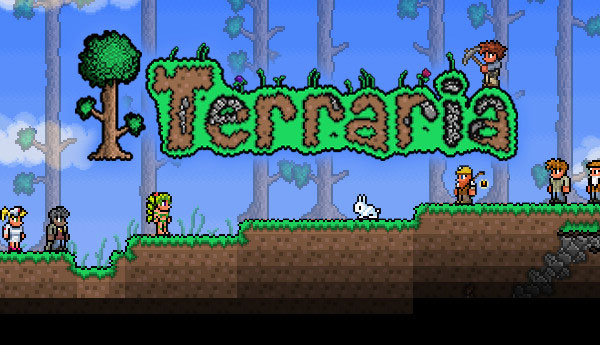 Terraria Play it at the Game Cruise