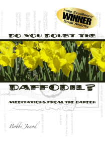 Do You Doubt the Daffodil? Winner