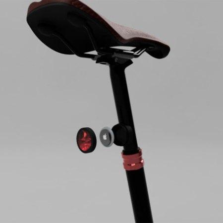 Fahrradhalterung Reflektor für die Sattelstütze