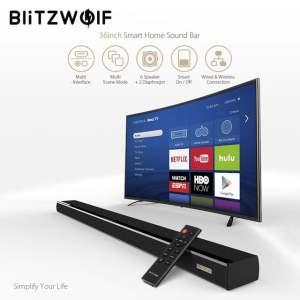 BlitzWolf® BW-SDB1 60W 36-inch Smart Soundbar 2.0
