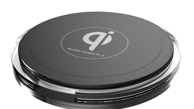 QI Enabled Wireless Charger