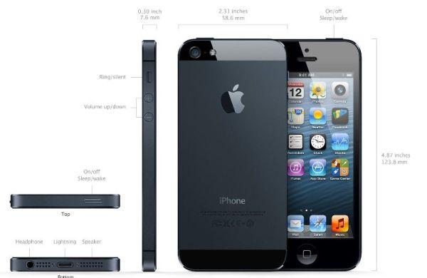 caracteristici-iphone-5-negru