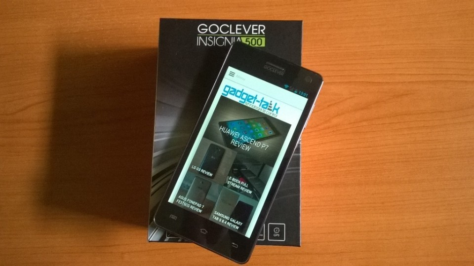 GoClever Insignia 500 Review