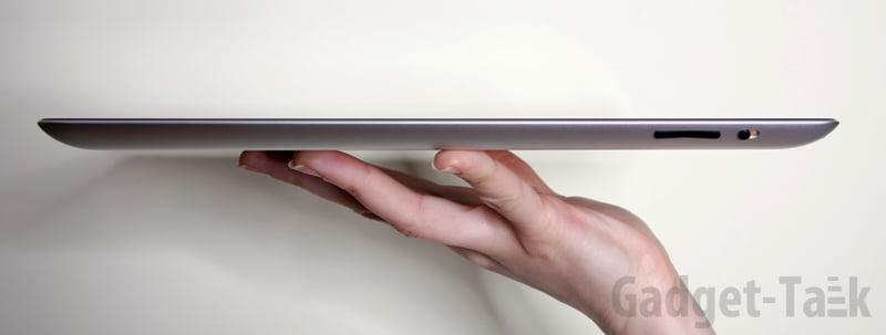 lateral noul iPad
