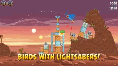 captura ecran Angry Birds Star Wars (1)