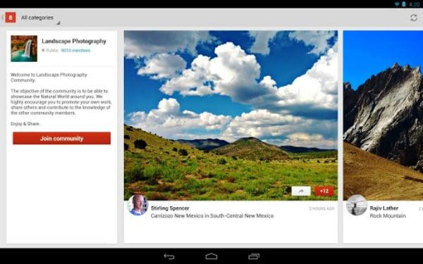 Comunitate Google Plus