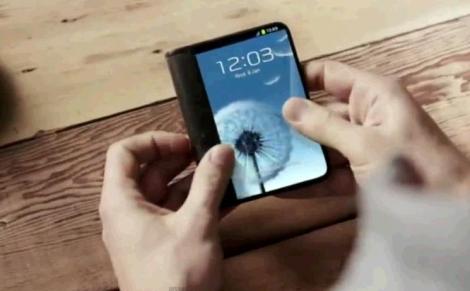 terminal samsung cu ecran flexibil lock screen