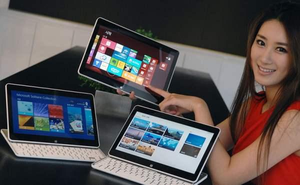 LG Tab-Book Ultra Z160 si Tab-Book H160