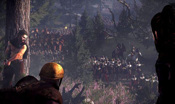 Total War Rome II Batalia din padurea Teutoburg