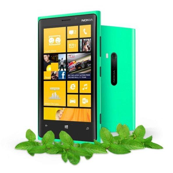 Nokia-Lumia-920-verde-deschis-menta