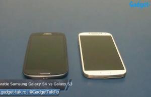 comparatie galaxy s4 vs galaxy s3