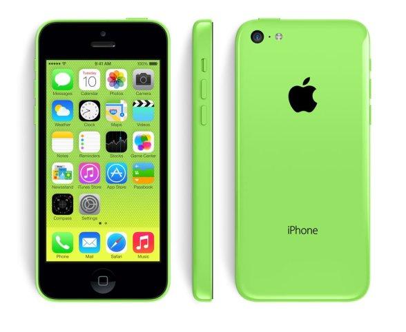 iphone 5 c verde