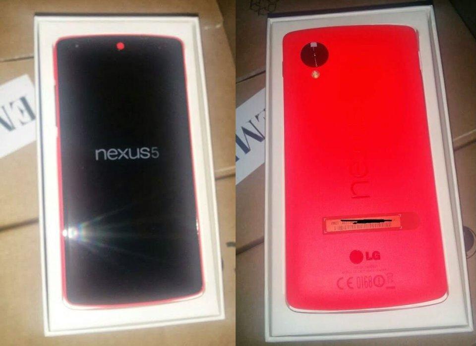 telefonul nexus 5 rosu