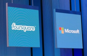 Microsoft and Foursquare