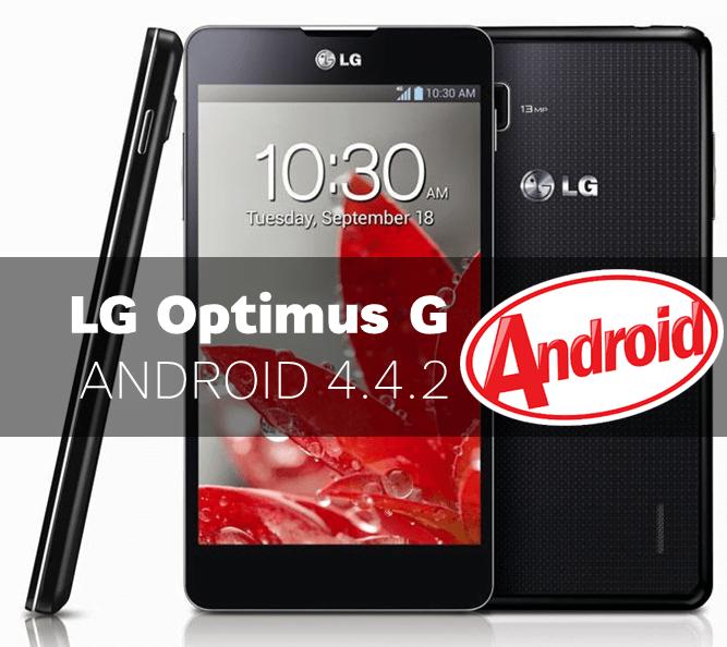 LG Optimus G primeste actualizare KitKat