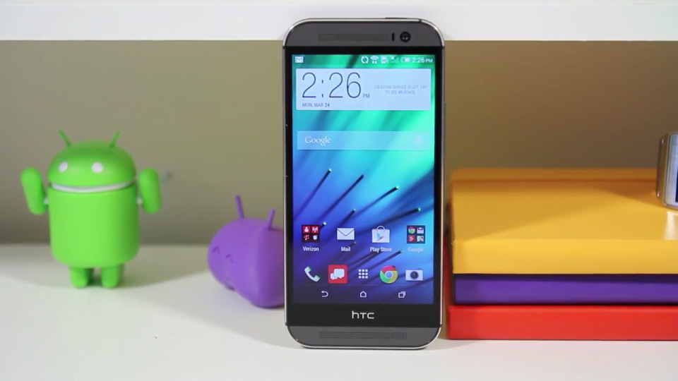 HTC One 2014 Google Play Edition