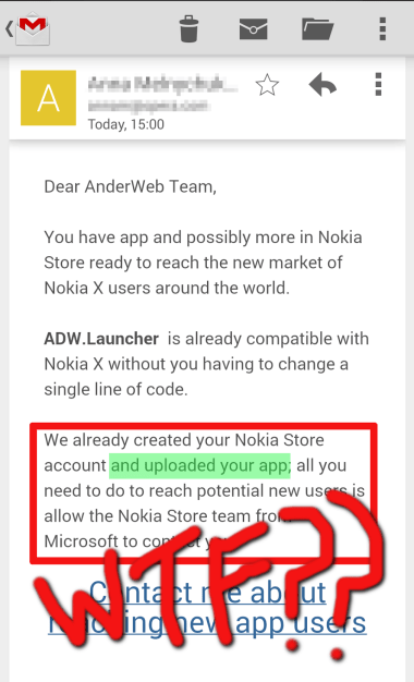 notificare Nokia