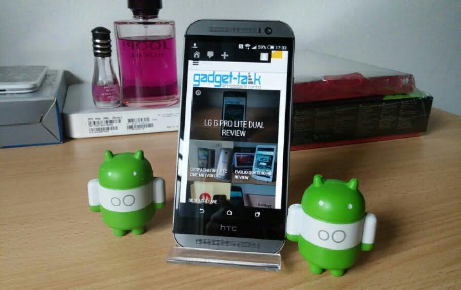 Top 5 caracteristici HTC One M8